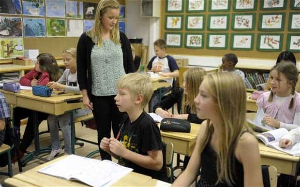 A revolution in education: Finland to stop teaching individual topics
