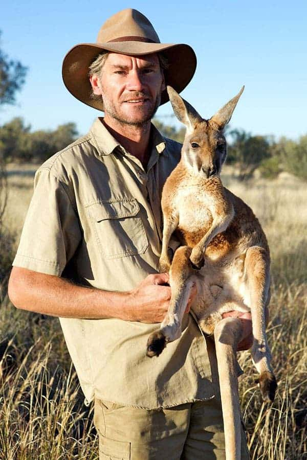 There S A Sanctuary For Orphaned Kangaroos In Australia