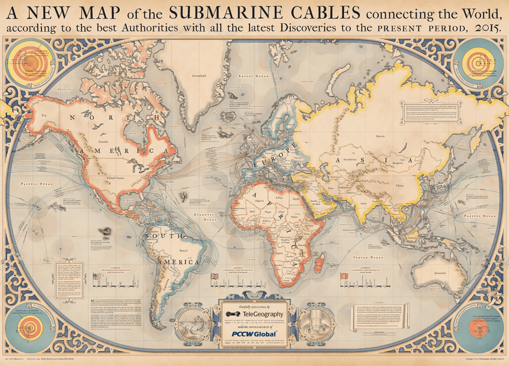 Beautiful Map Of The World.Beautiful Map Shows The Mind Boggling Extent Of Our Underwater