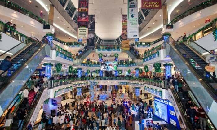 South City Mall in Kolkata, India. Photograph: Brett Cole