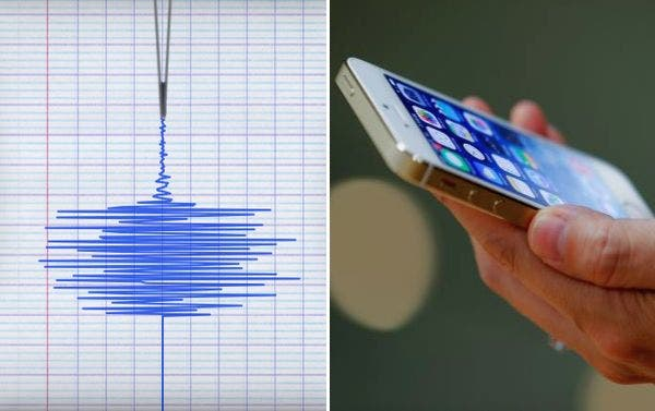 Smartphone-powered-earthquake-detector