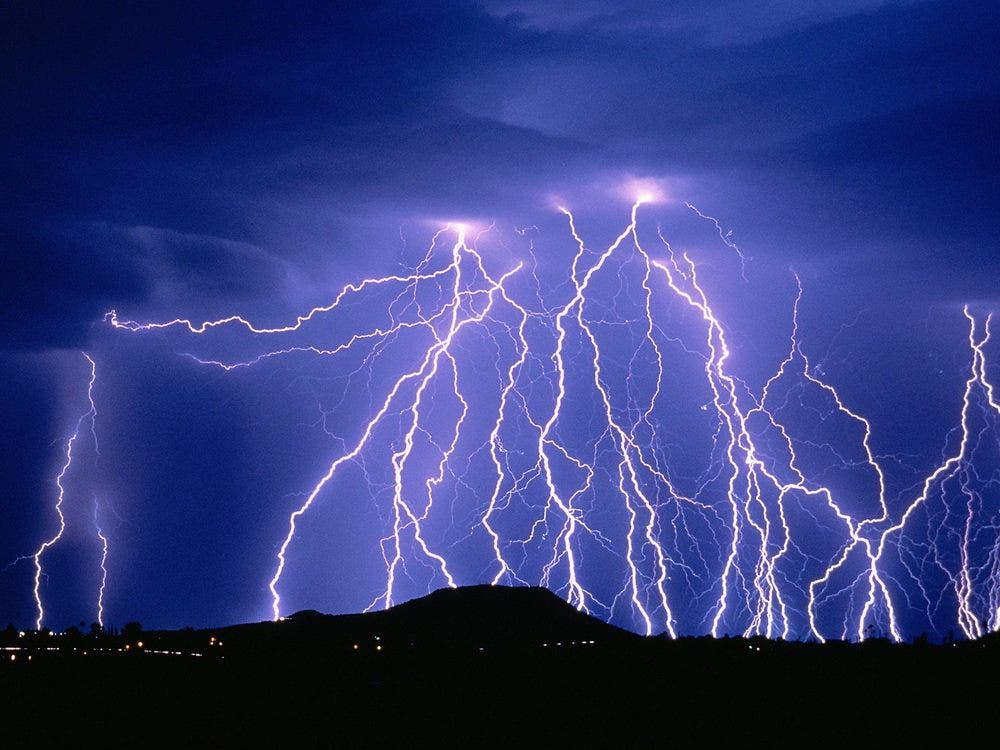 You're still looking at lightning. Thunder image below. Credit: Flickr Matjs