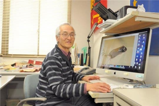 Professor Hayashi. Credit: Image courtesy of University of Tsukuba
