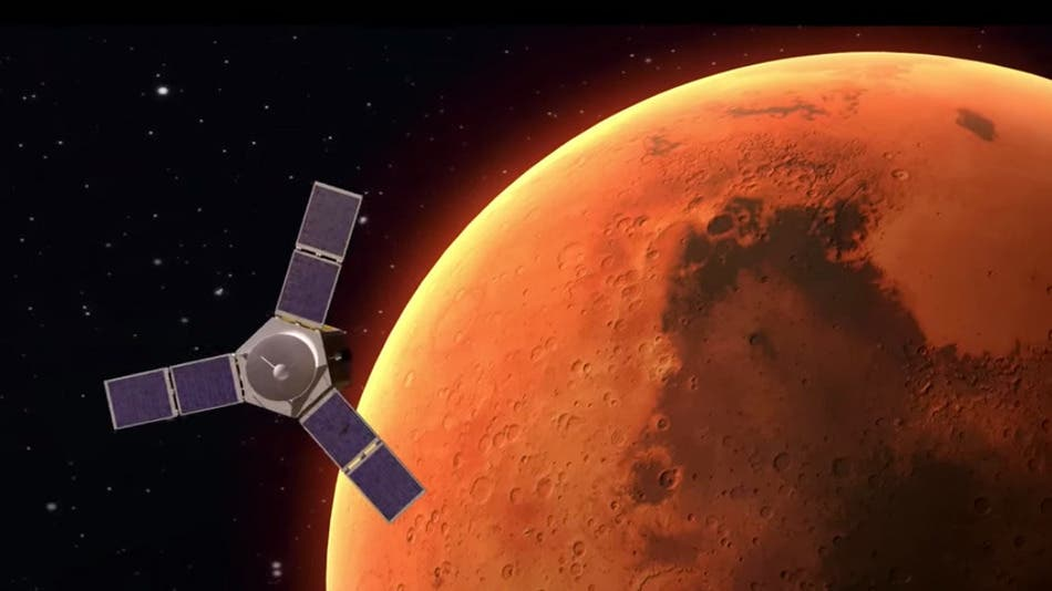 """HOPE"" - the UAE probe destined for Mars in 2020."