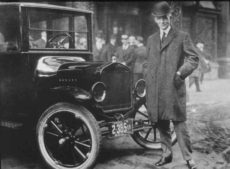 Henry Ford and the Model T. Image: Wikimedia Commons