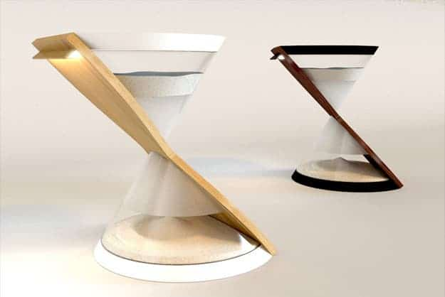 The table lamp version.