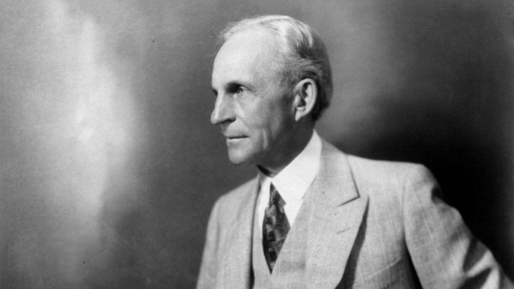Ford Motor Company founder Henry Ford. Photo Credit: Library of Congress.