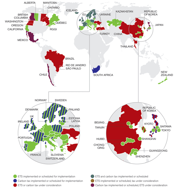 Image: World Bank Carbon Pricing Watch 2015