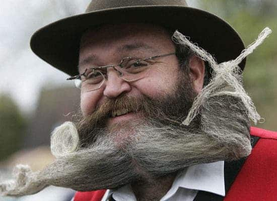 Image: World Beard and Moustache championship (yes, this is a thing).