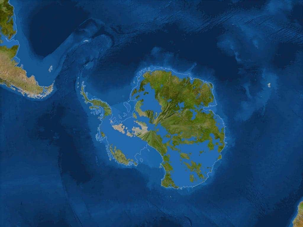 How would the world look like without ice in case youre wondering what youre looking at thats antarctica antarctica is now ice free and half of the continent is now submerged under the ocean gumiabroncs Images