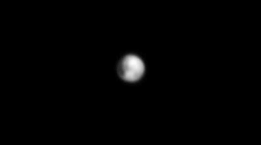 Enhanced view of Pluto