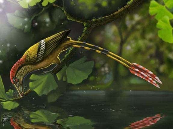 Artist impression of the Cretaceous era fossil. Image: Deverson Pepi