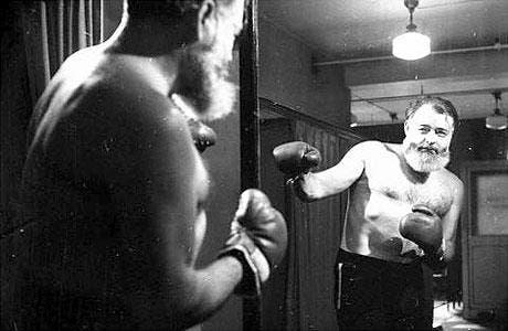 Hemingway vs Hemingway. Hemingway lost.