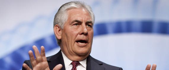 Rex Tillerson, chairman and CEO of Exxon Mobil Corp. Image: Huff Post