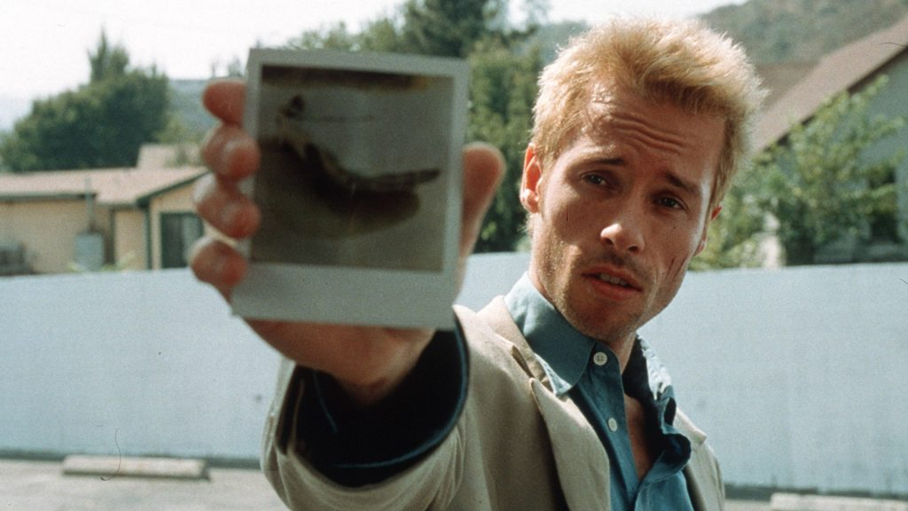 One of the most notable recent examples of a film showcasing amnesia is Memento (2001). It tells the story of a former insurance investigator, Leonard Shelby, and his attempts to track down the man who attacked him and his wife-killing her and leaving him with a brain injury that has destroyed his ability to form new memories. Image: IMDB