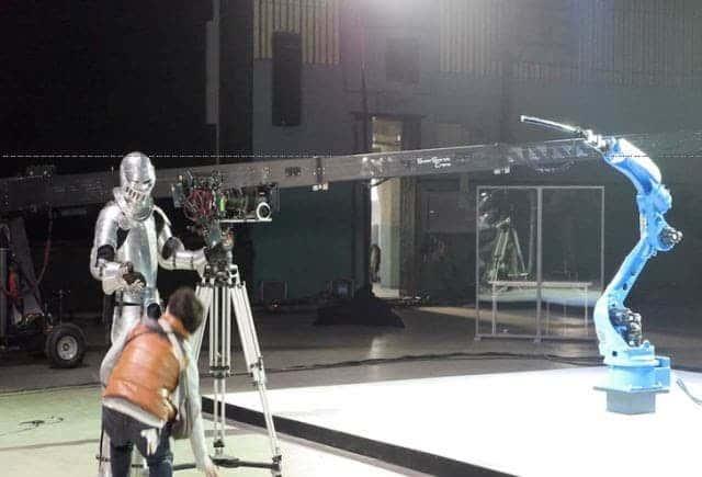 Scene from the making of. Image: YASKAWA BUSHIDO PROJECT
