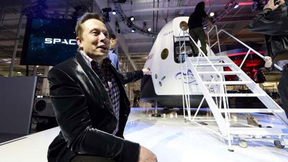 SpaceX's Elon Musk eyes satellite internet. Photo: SpaceX
