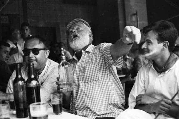 Hemingway in the bar
