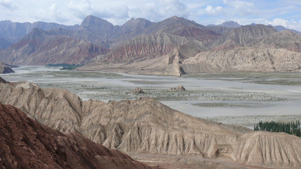 The Tarim basin
