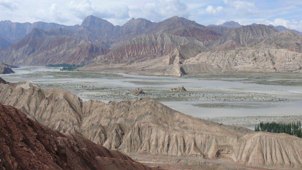 The Tarim basin