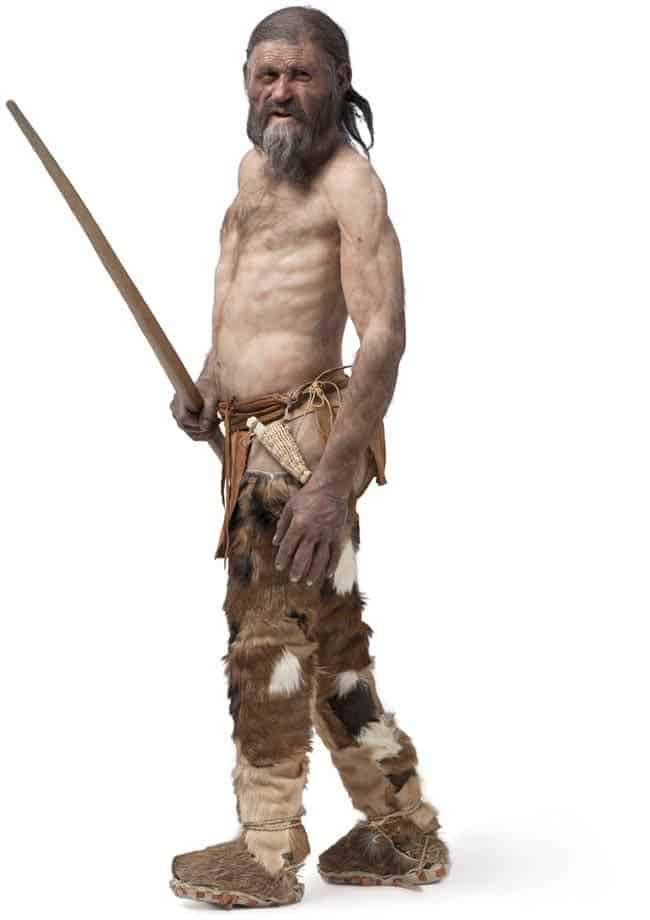 Ötzi Reconstruction (© South Tyrol Museum of Archaeology – www.iceman.it)