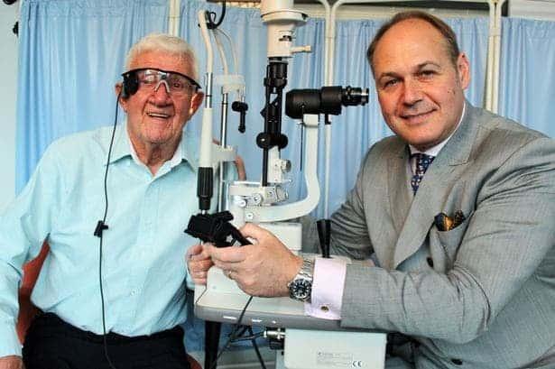 Ray Flynn and Professor Paulo Stanga