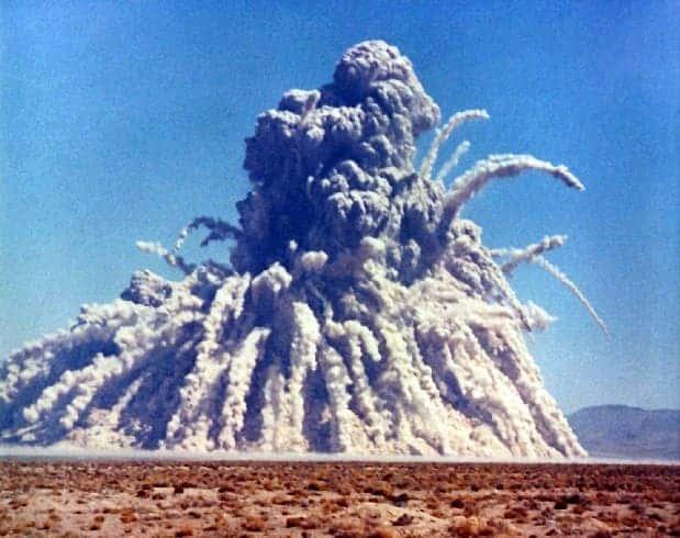 sedan nuclear explosion