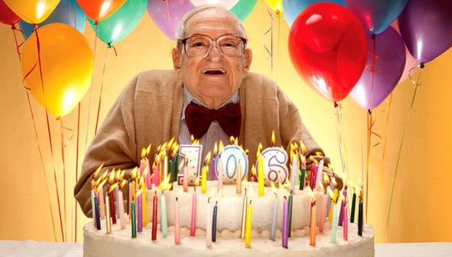 The Age Of The Centenarians Elderly Population Over 100