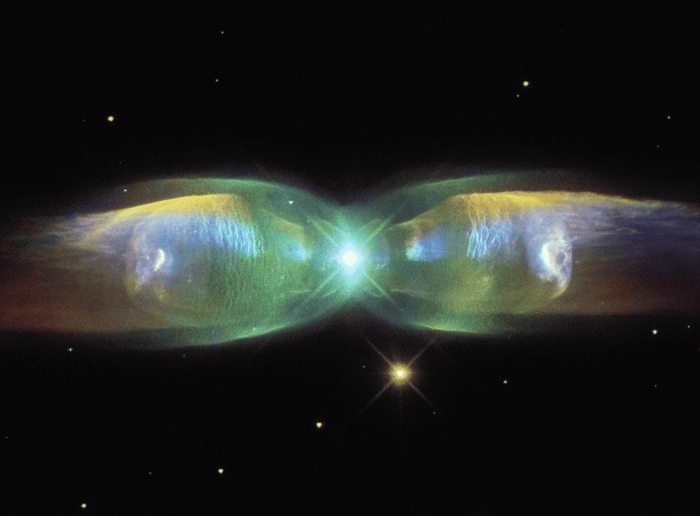 Minkowski's butterfly - Hubble captures spectacular photo of a planetary nebula.