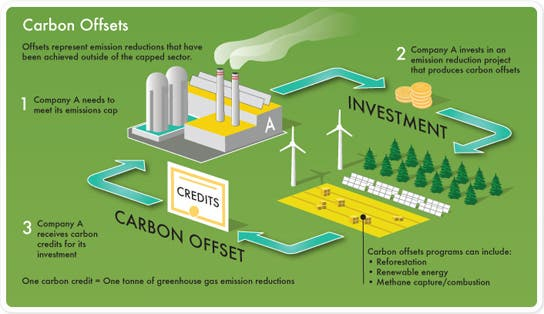 carbon offesetting