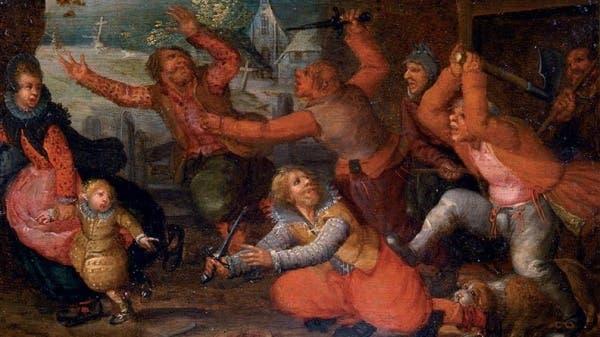 aggressive Renaissance art