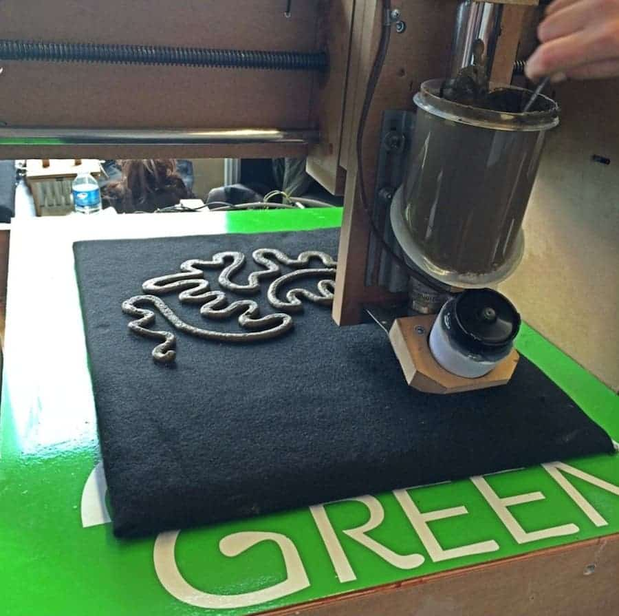 """Green 3D Printer Lets You Print With """"Organic Ink"""""""