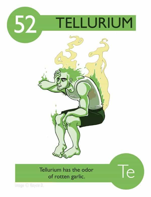 Telurium