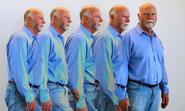 American biologist and technologist Craig Venter whose company Human Longevity Inc plans to create a database of a million human genome sequences by 2020. Photograph: Mike Blake/Reuters