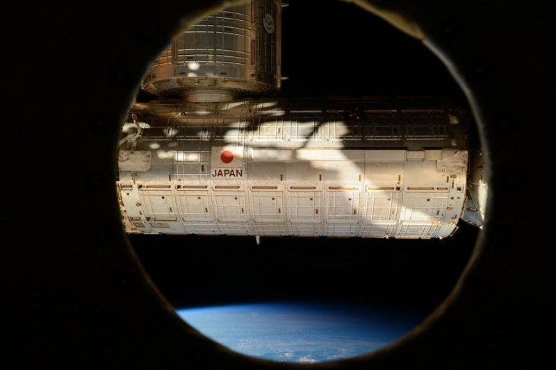 """Moved our closet (PMM) to this port on Node 3. Likely last picture ever to be taken from this window"""
