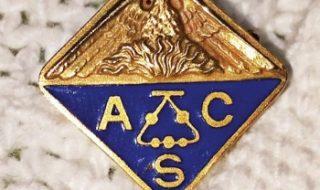 A vintage ACS pin.