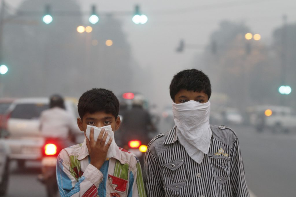 India's air pollution is so bad it's reducing life expectancy by 3.2 years. Photo: Getty Images