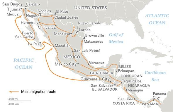 Central American Route by National Geographic