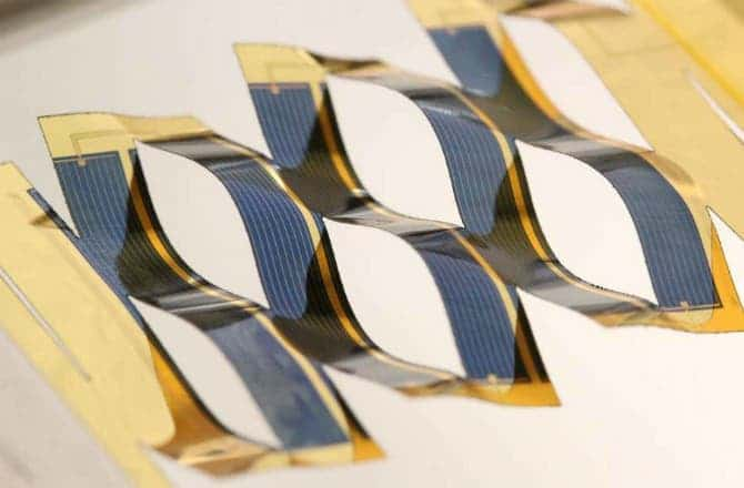 twisted solar cells