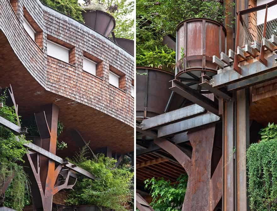 Turin urban treehouse