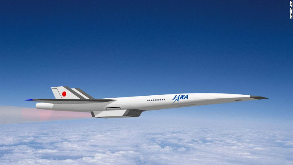 Proposed supersonic passanger jet by the Japan Aerospace Exploration Agency (JAXA)