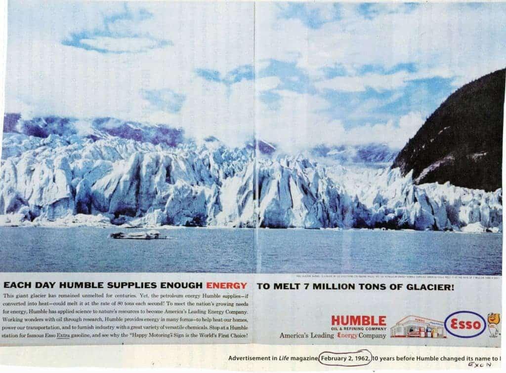 A hilarious old Exxon ad.