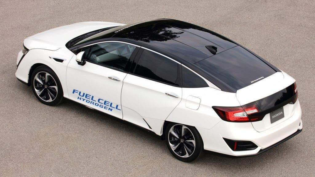 Model Hydrogen Fuel Cell Cars The New Honda F...