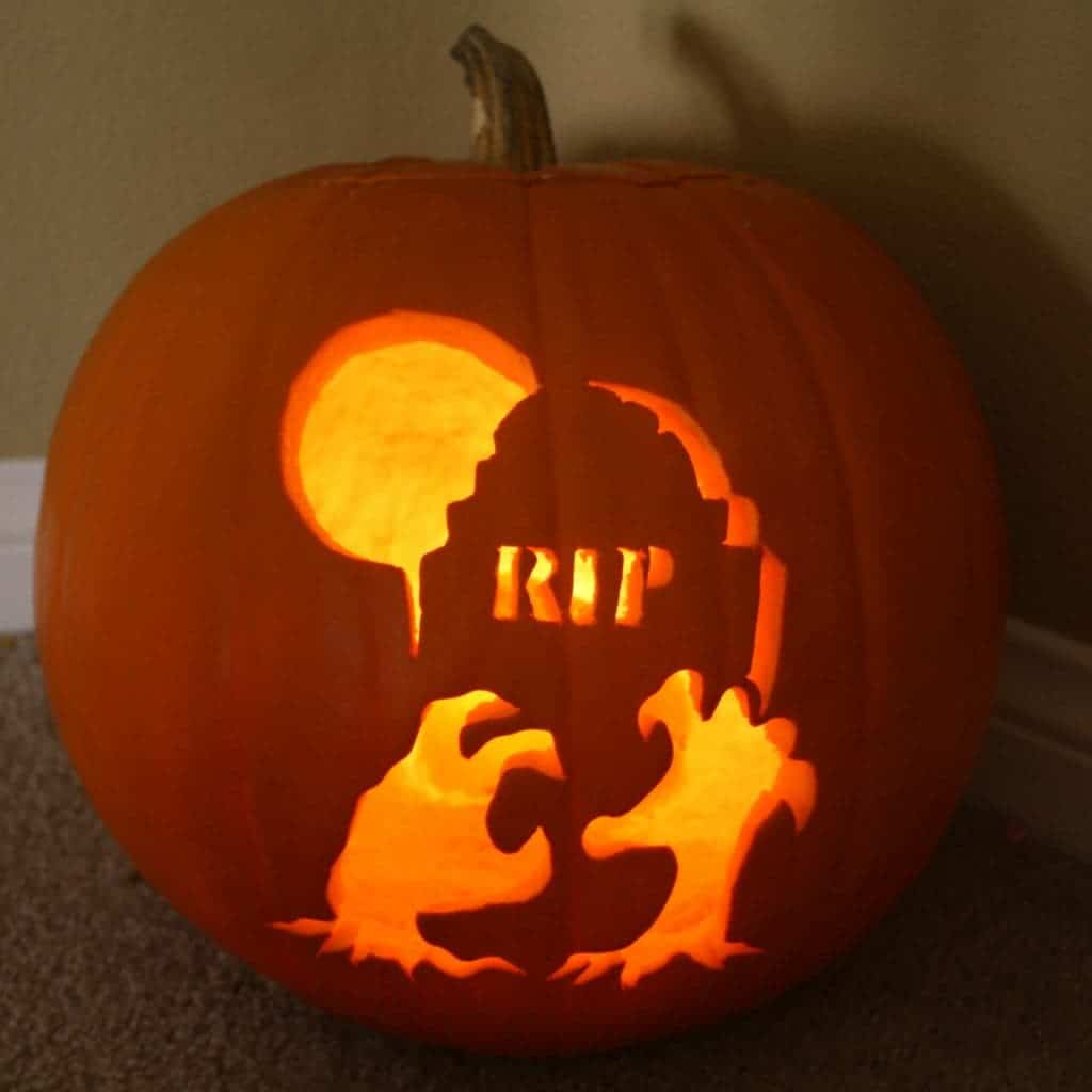 carved pumpkins - how can we make them last?