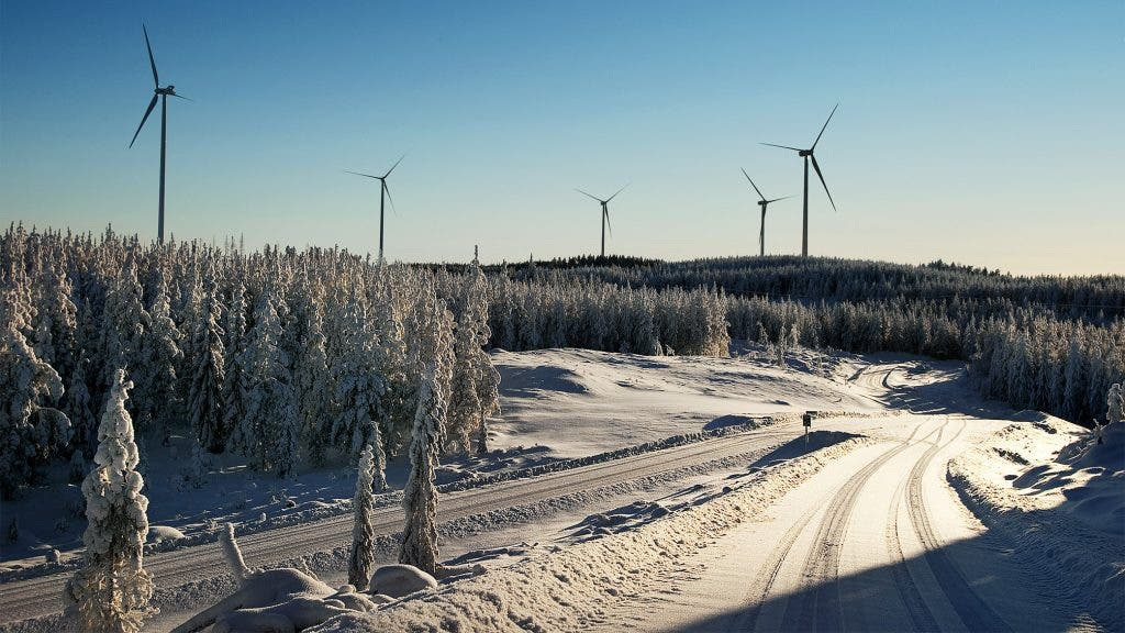 Wind turbines in Sweden. Image: Sweden.se
