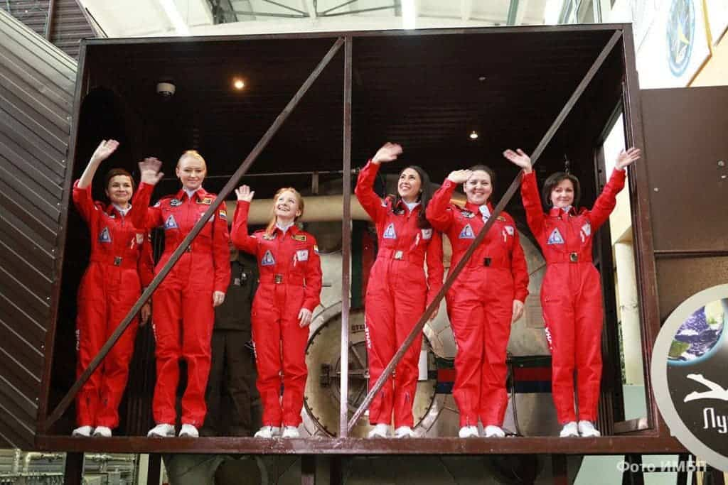 The six women who will spend eight days in a moon mission simulation Institute of Biomedical Problems