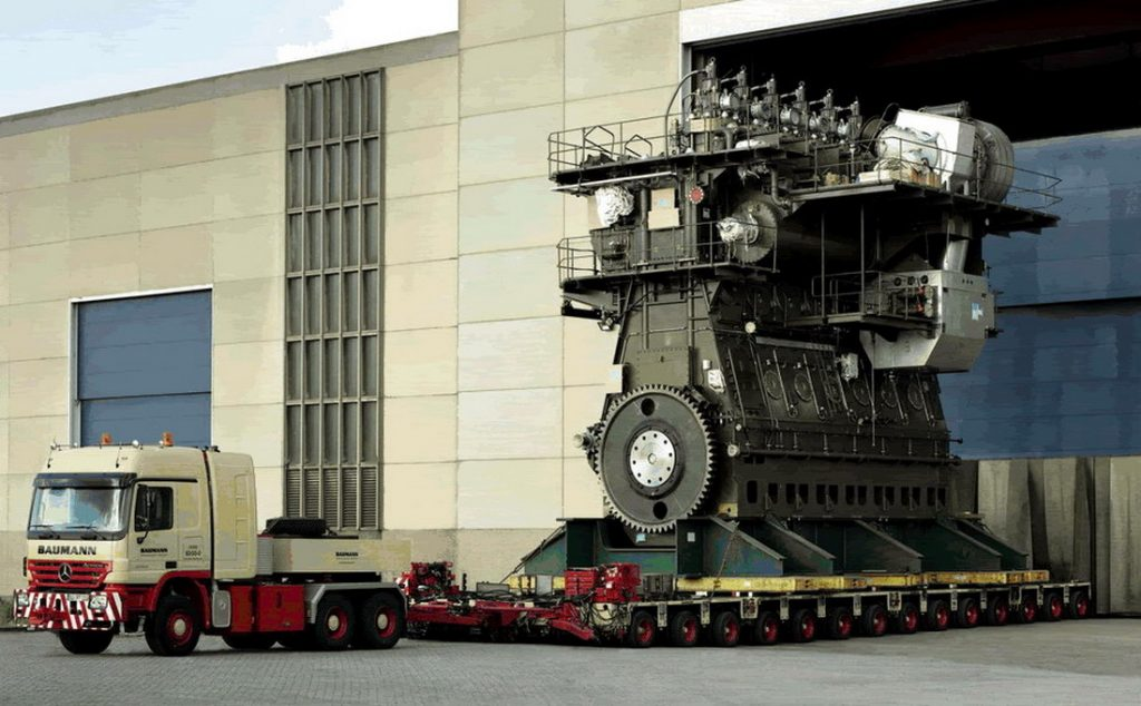 biggest engine in the world
