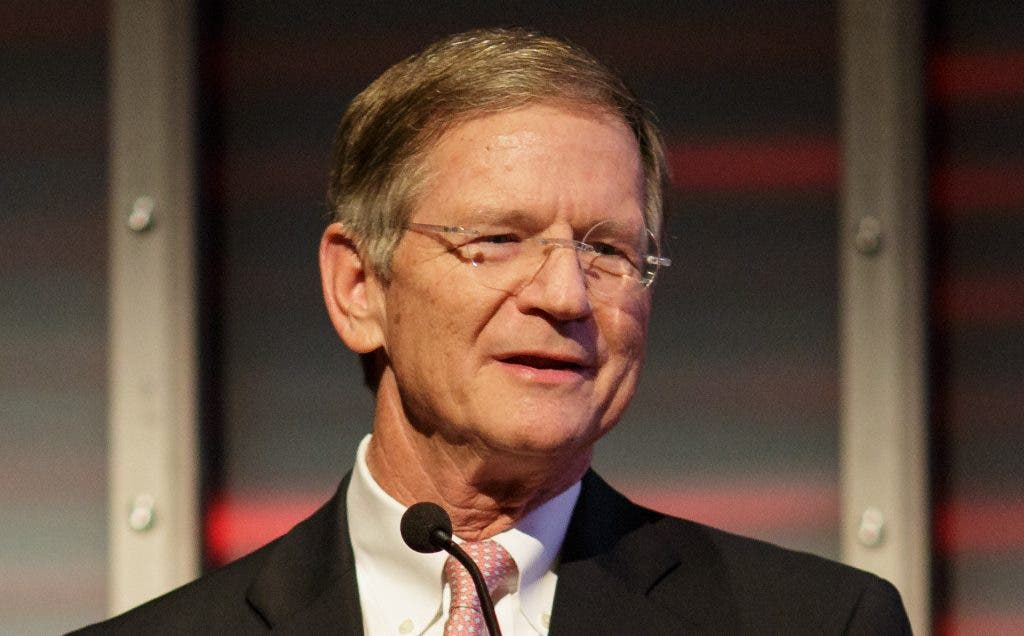 U.S. Rep. Lamar Smith, speaking on Sept. 29 at National Geographic Society headquarters in Washington
