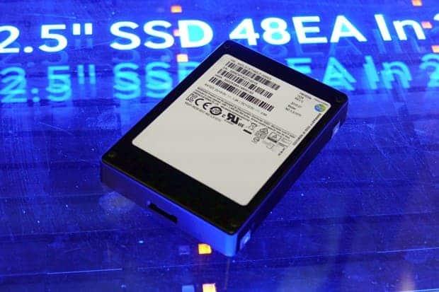 The 16TB Samsung PM1633a SSD. Image: Golem.de