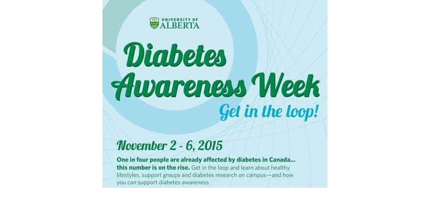 U of A Diabetes Week